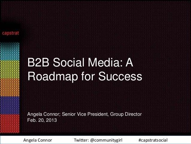 B2B Social Media: A Roadmap for Success