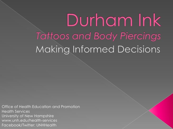 Durham Ink: Tattoos and Piercings
