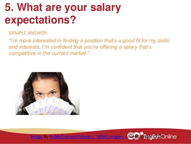 include salary expectations cover letter