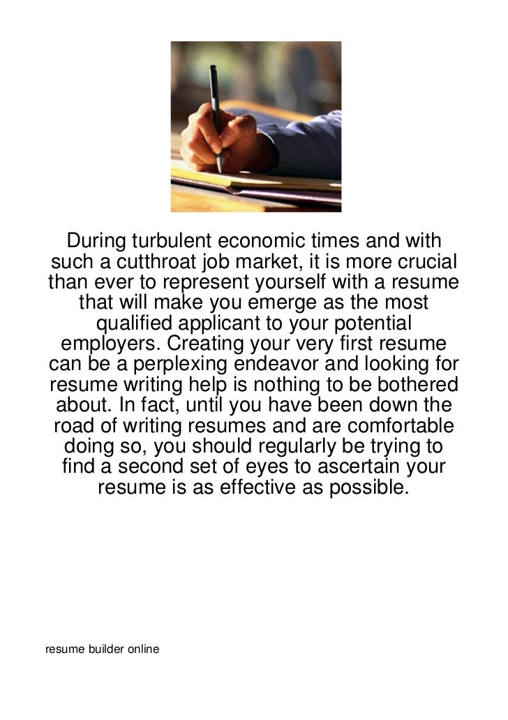 During turbulent economic times and withsuch a cutthroat job market, it is more crucialthan ever to represent yourself wit...
