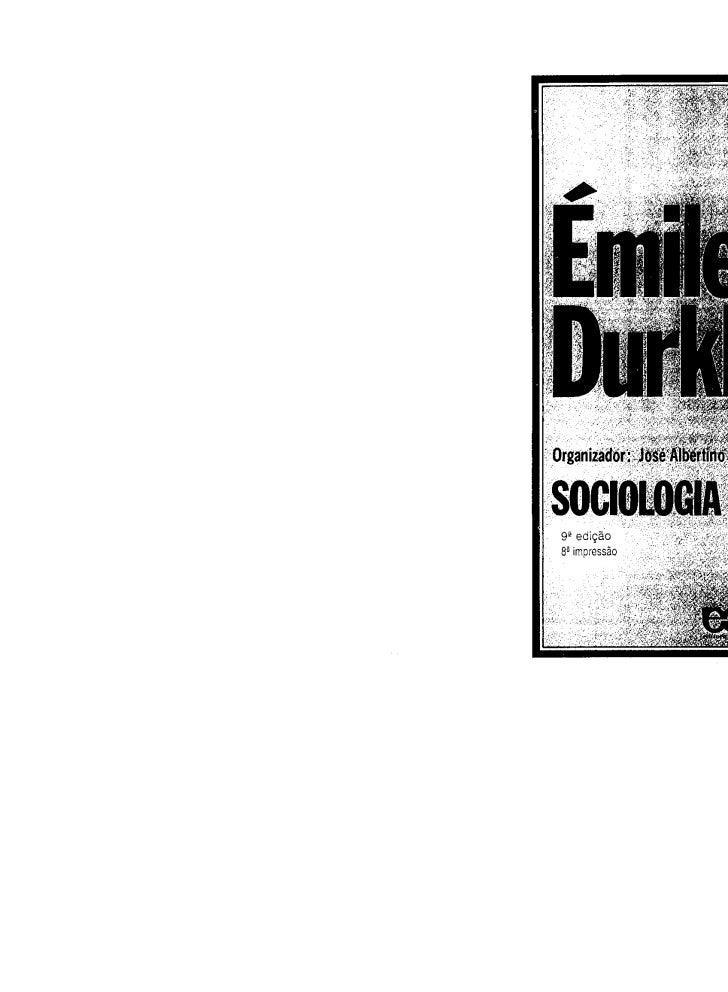 Durkheim emile  sociologia da religião