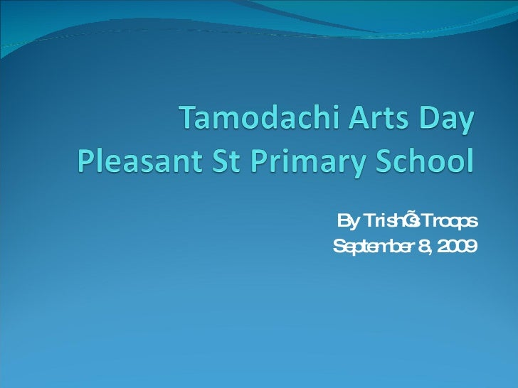Tamodachi Arts Day 2009