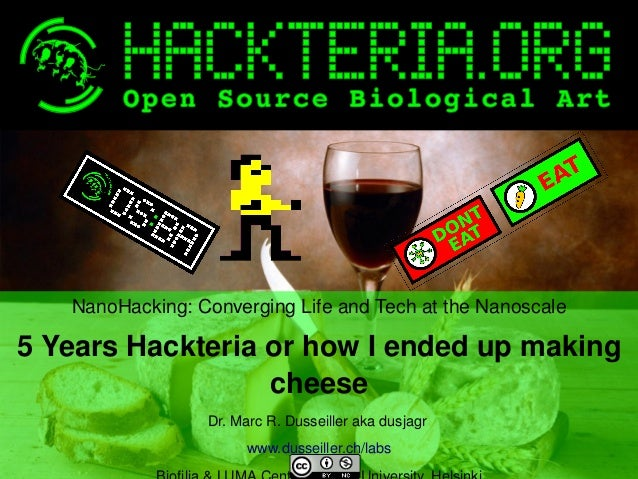Dusjagr publictalk Biofilia ... 5 years of hackteria... or how to make cheese