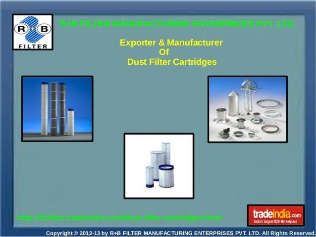 Dust Filter Cartridges Exporter,Manufacturer