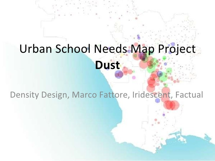 Urban School Needs Map Project