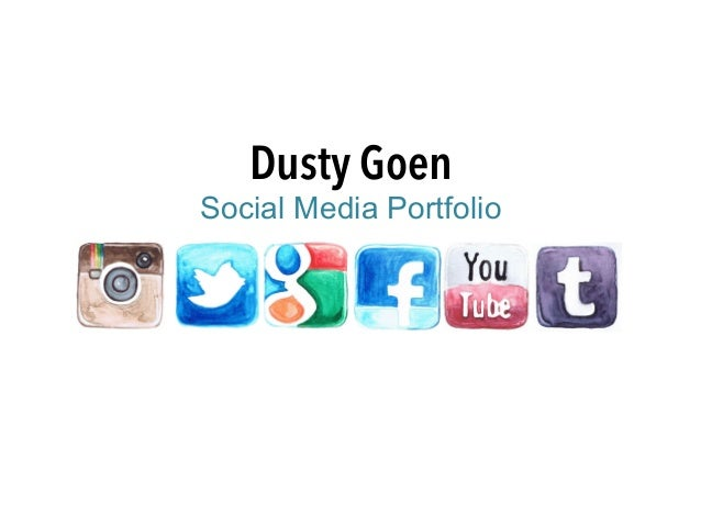 Dusty Goen Social Media Portfolio