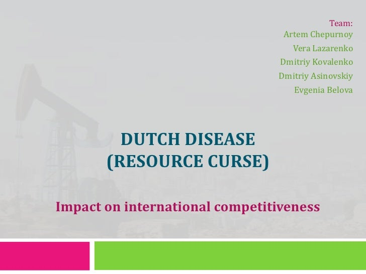 Dutch disease