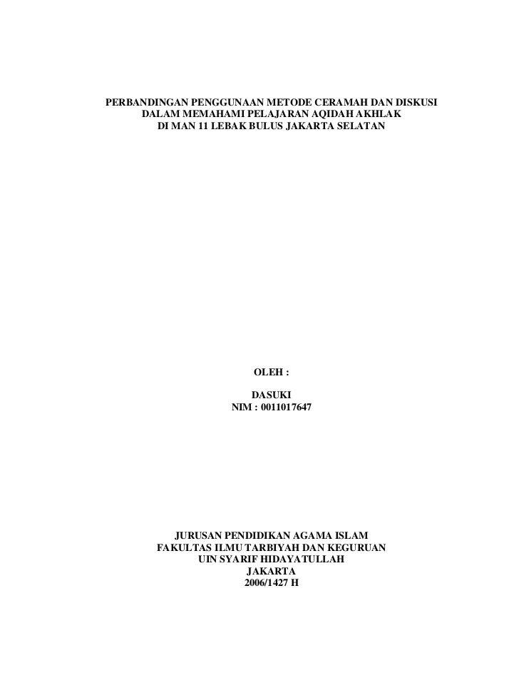 Dv4013 perbandingan penggunaan metode ceramah dan diskusi (viani wai)