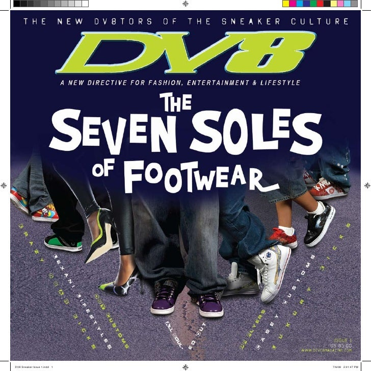DV8 Sneaker Issue 1.indd 1   7/6/08 2:01:47 PM