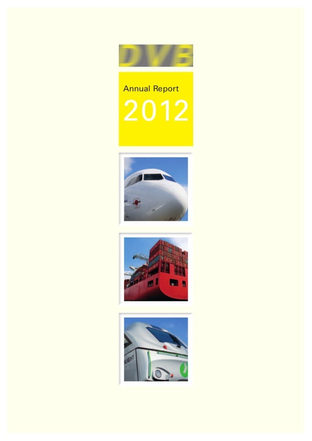 DVB Group's Annual Report 2012