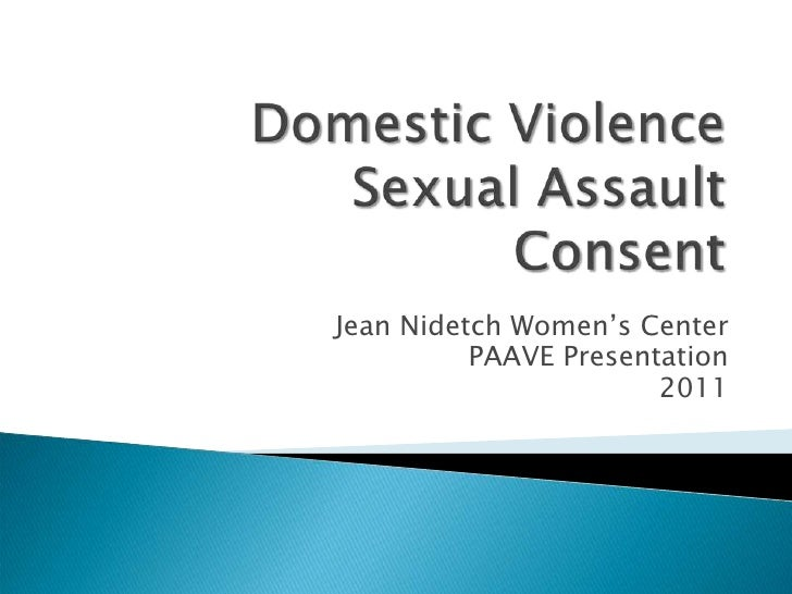 Jean Nidetch Women's Center          PAAVE Presentation                       2011