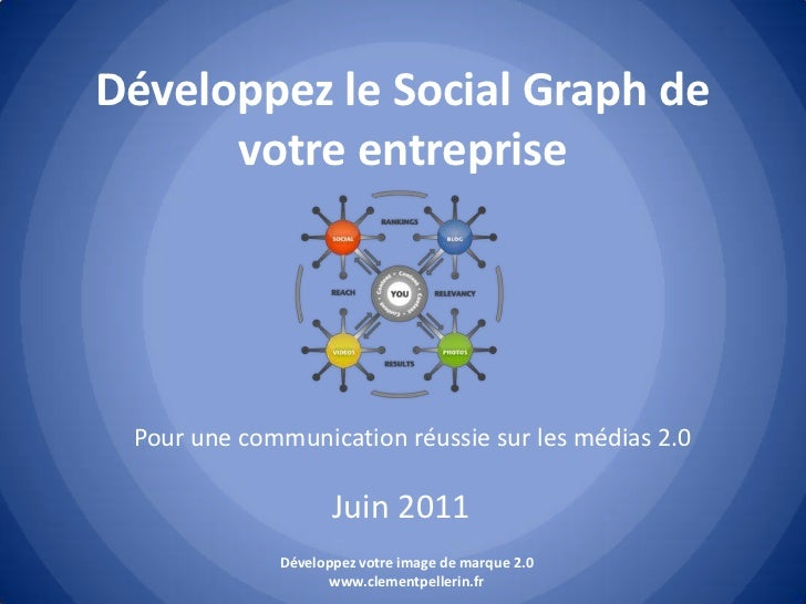 Développez le Social Graph de votre entreprise<br />Pour une communication réussie sur les médias 2.0<br />Juin 2011<br />...