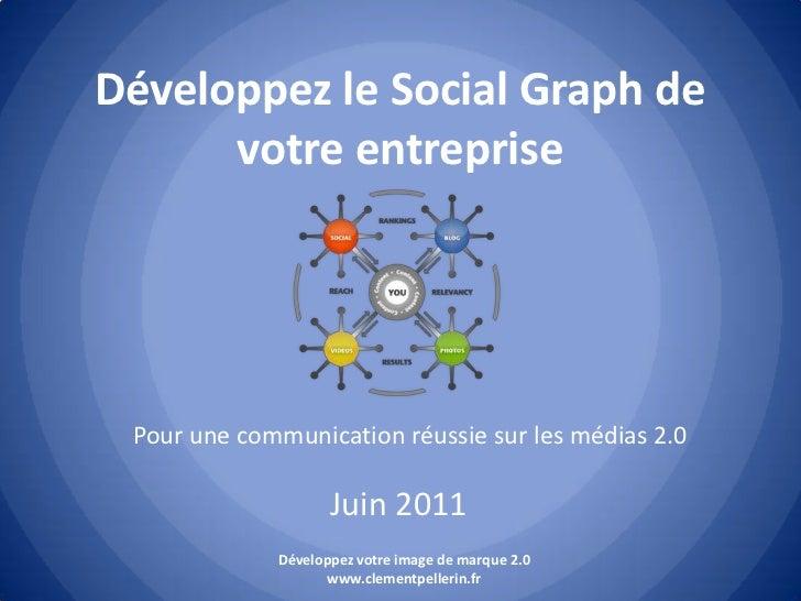 Développez le social graph de votre entreprise pour une communication réussie sur les médias 2.0 - www.clementpellerin.fr