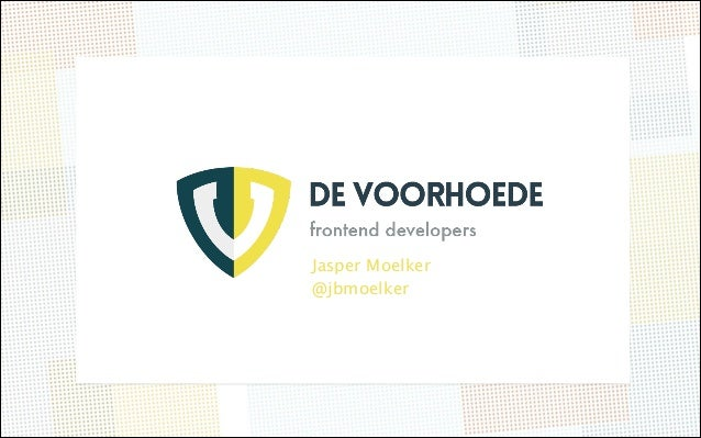 Voorhoede - Front-end architecture