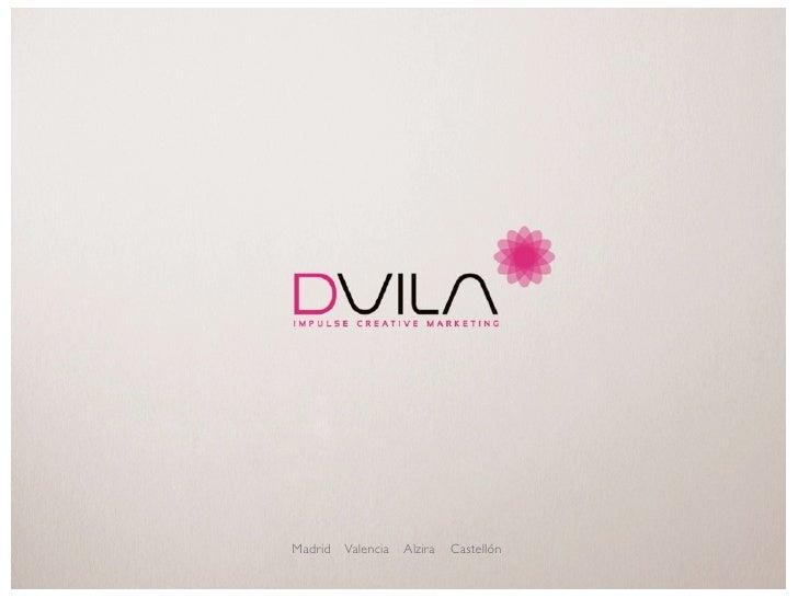 DVILA agencia de publicidad Valencia packaging www.dvila.com