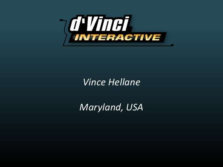 Vince Hellane<br />Maryland, USA<br />