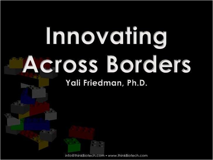 Innovating Across Borders
