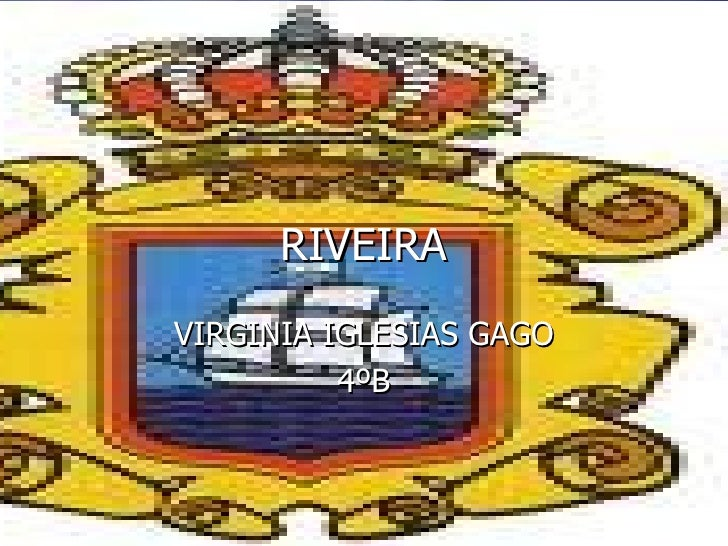 RIVEIRA VIRGINIA IGLESIAS GAGO 4ºB