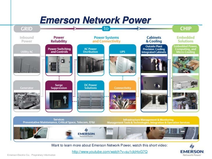 Emerson Network Power                                        Want to learn more about Emerson Network Power, watch this sh...