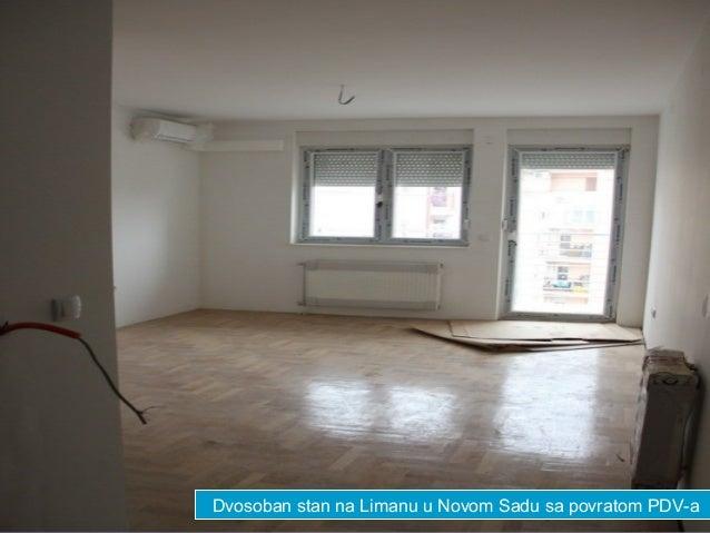 Dvosoban stan na Limanu u Novom Sadu sa povratom PDV-a