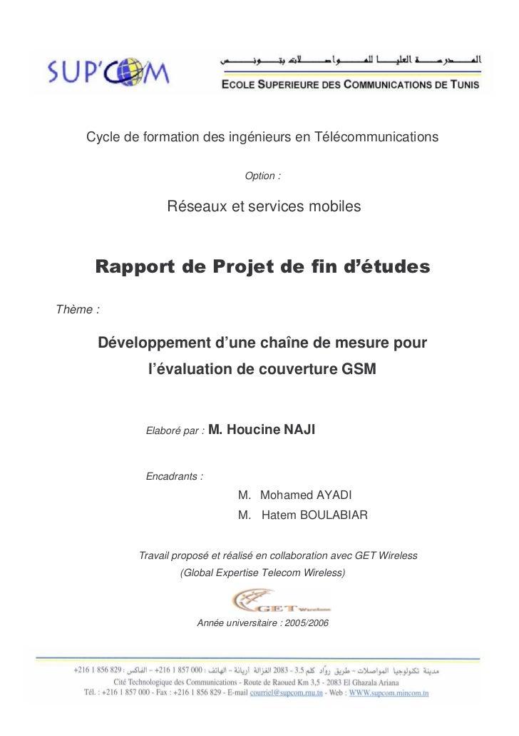 Dédicace                                                                SUPCOM     Cycle de formation des ingénieurs en Té...