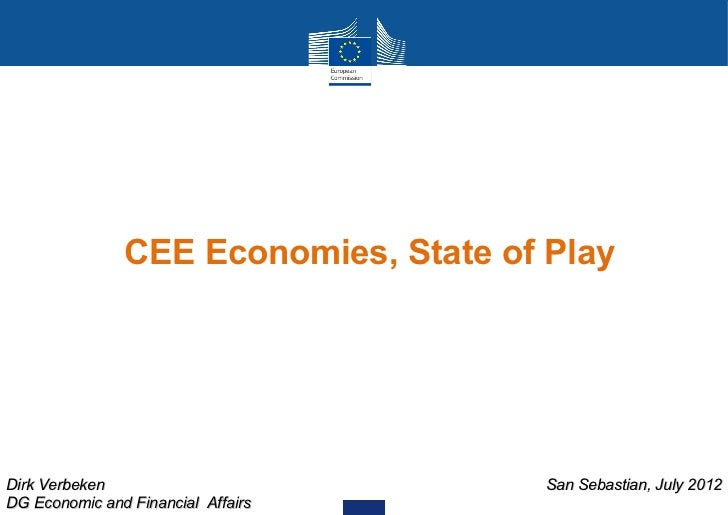 The EU-MS' Economies of central and east Europe