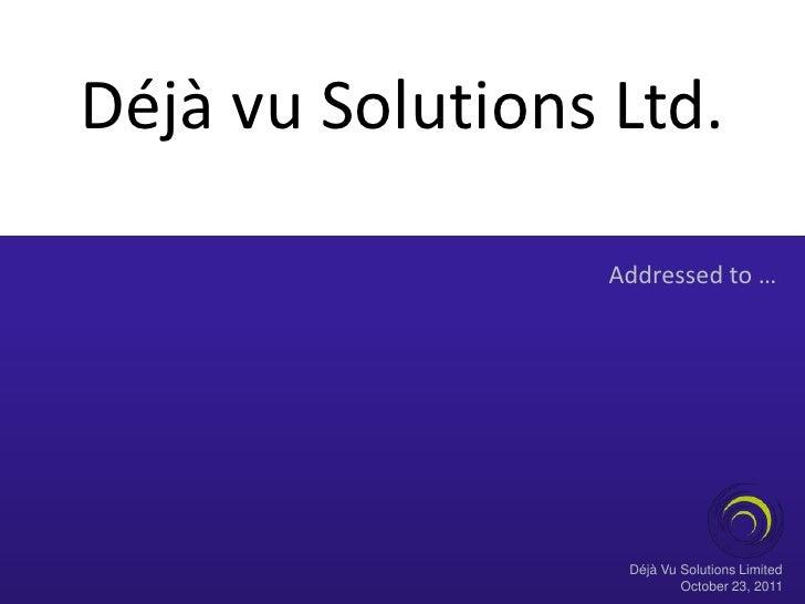 Dvsl enterprise solutions.v1