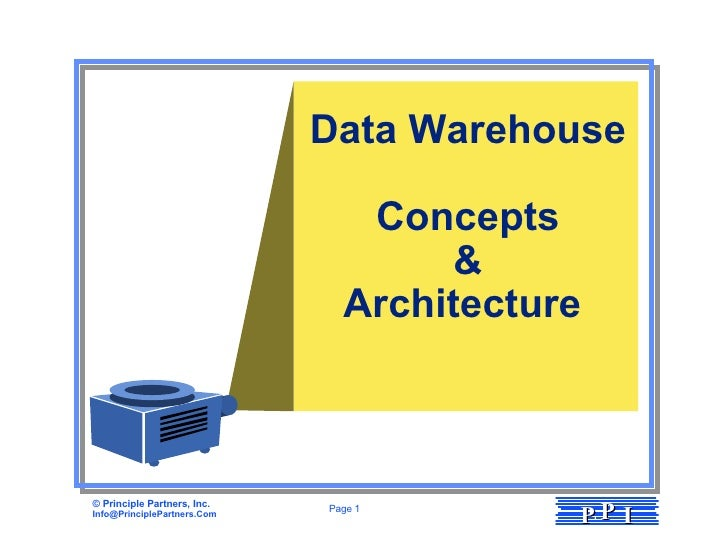Data Warehouse Concepts & Architecture