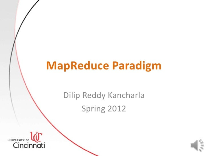 MapReduce Paradigm