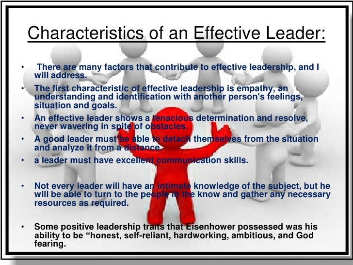 Thesis leadership qualities