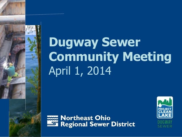 Dugway Sewer Community Meeting April 1, 2014