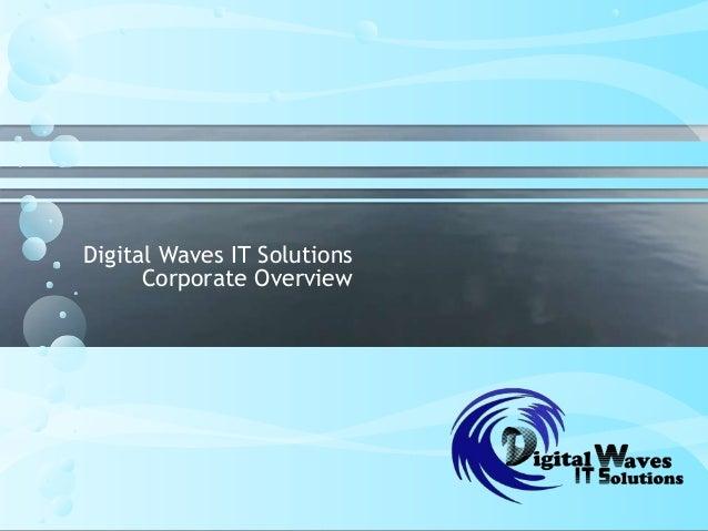 Digital Waves IT SolutionsCorporate Overview