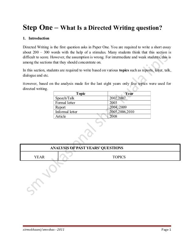 spm 2005 english essay directed writing