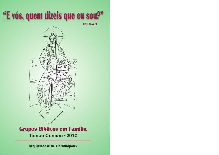Grupos Bíblicos em Família
