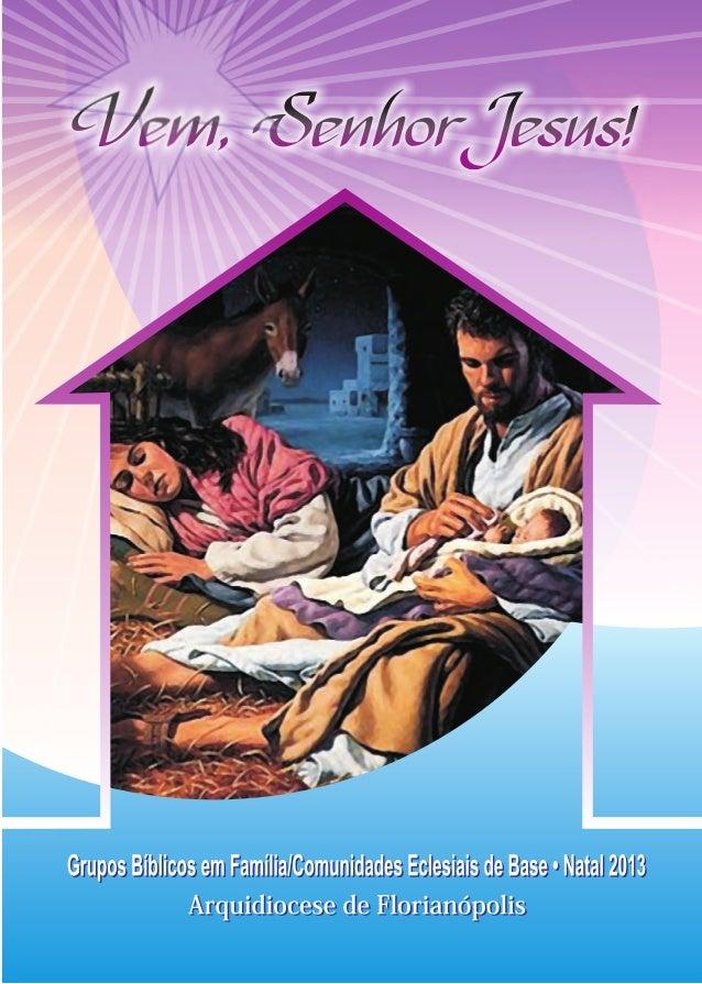 Novena de Natal 2013 - Arquidiocese de Florianópolis
