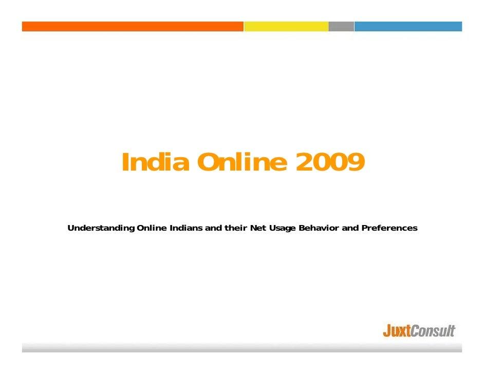 India Online Study 2009