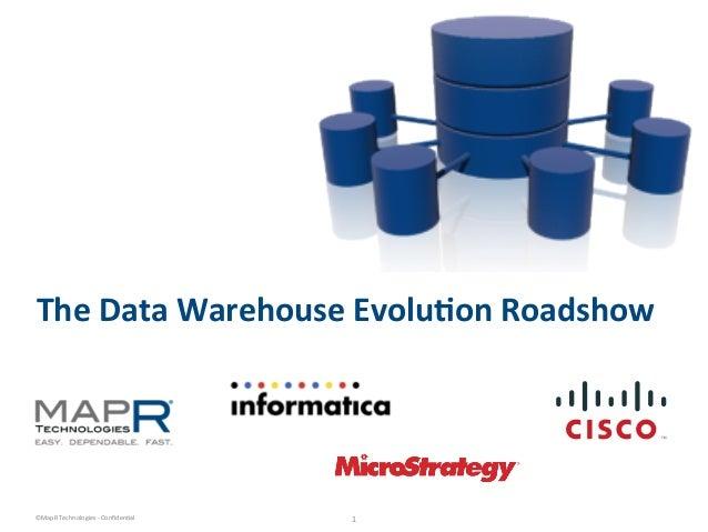 Data Warehouse Evolution Roadshow