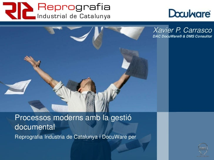 Reprografia         Industrial de Catalunya                                                    Xavier P. Carrasco         ...