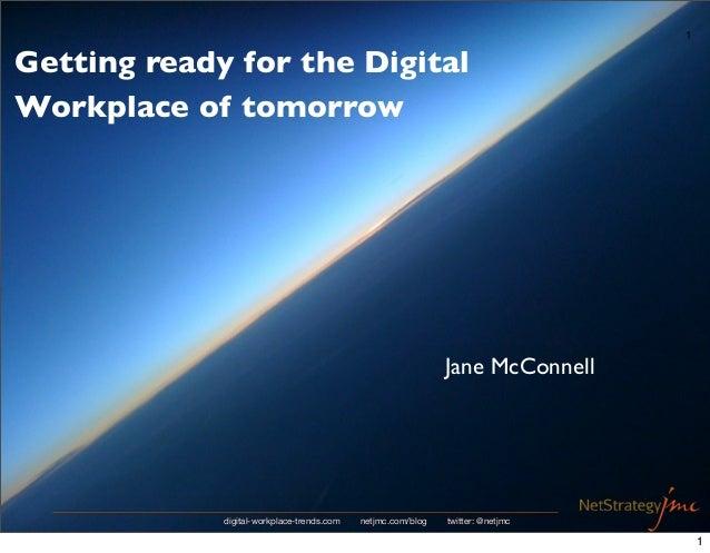 Digital Workplace Trends 2012