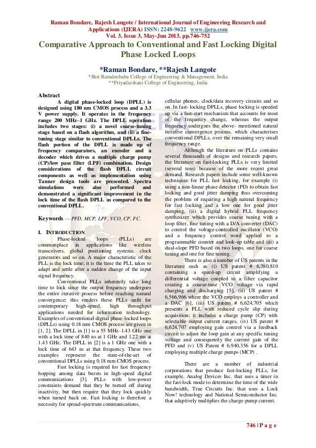 Raman Bondare, Rajesh Langote / International Journal of Engineering Research andApplications (IJERA) ISSN: 2248-9622 www....