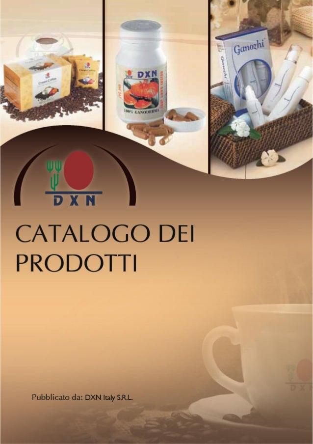 DXN Catalogo Prodotti