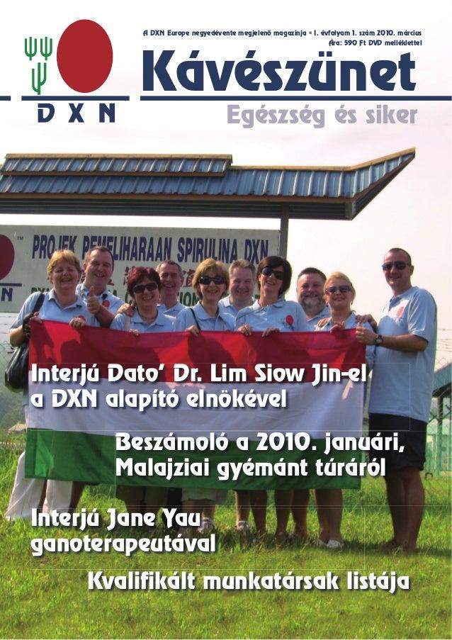 DXN Kávészünet 1