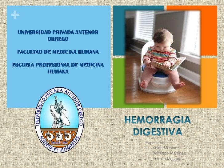 hemorragia digestiva baja: