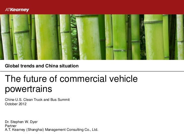 Global trends and China situationThe future of commercial vehiclepowertrainsChina-U.S. Clean Truck and Bus SummitOctober 2...