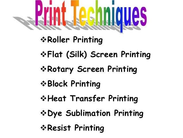 rotary Screen Printing