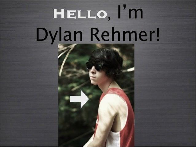 Dylan rehmer visual resume