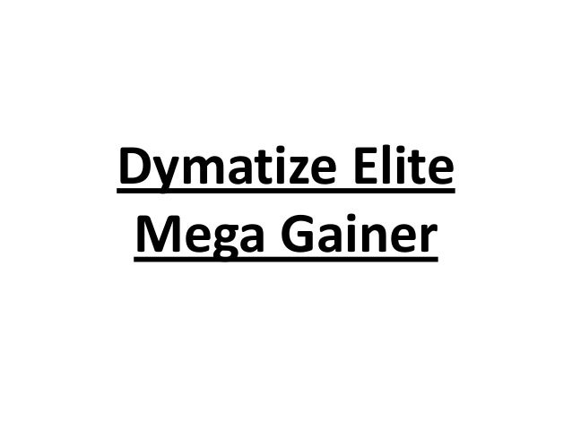 Dymatize Elite Mega Gainer
