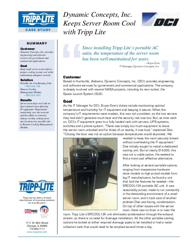 1111 W. 35th Street Chicago, IL 60609 773.869.1111 www.tripplite.com Tripp Lite has been a trusted manufacturer of innovat...