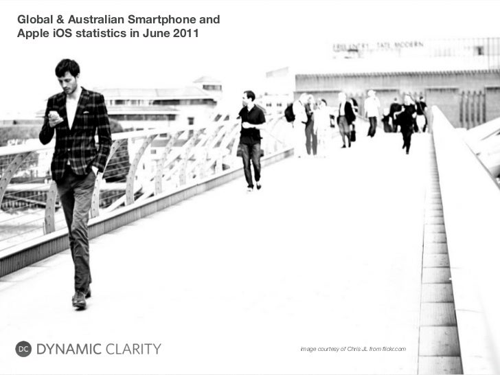Global & Australian Smartphone andApple iOS statistics in June 2011                                     image courtesy of ...