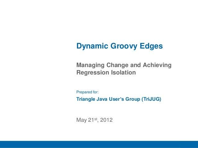 Dynamic Groovy Edges